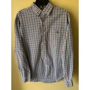 Men's Polo Ralph Lauren Plaid Oxford Shirt